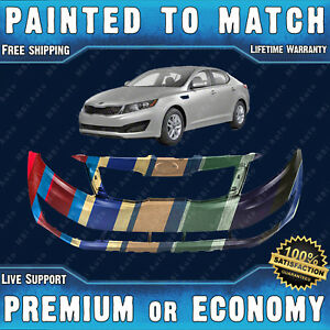 New Painted To Match Front Bumper Replacement For 2012 2013 Kia Optima Ex