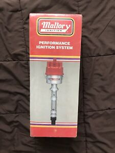 Mallory 2363101 Distributor Dual Pount Ford 240 300 6cyl