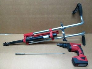Hilti St 1800 a22 Cordless Screwdriver With Sdt5 Stand Up Handle Nice