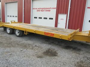 2011 Custom Heavy Haul 12 Ton Trailer