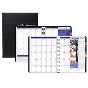 House Of Doolittle Recycled Earthscapes Weekly monthly Planner 8 1 2 X 11