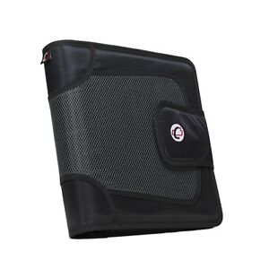Case it 1590351 Strap Binder With Tab File O ring 2 In Black