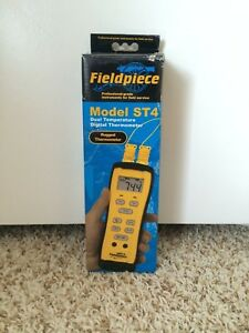 Fieldpiece St4 Dual Temperature Digital Thermometer
