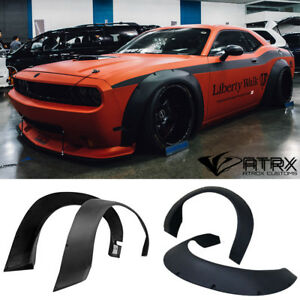 Wide Body Kit 4 Fender Flares Frp Lb Style Dodge Challenger 2008 2018