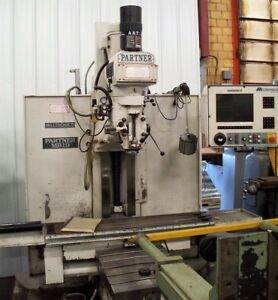 9799 Milltronics Cnc Bed Type Vertical Milling Machine