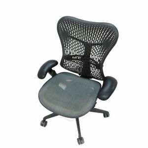 Herman Miller Mr123aam Mirra 2 Lumbar Supportive Office Chair W Adjustable Arms