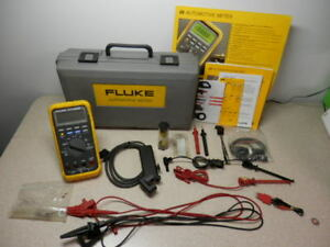 Fluke Md88 Matco Tools Automotive Meter Excellent Screen Protector Hard Case