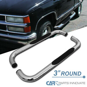 For 88 98 Chevy Gmc C10 Pickup Reg Cab Chrome Side Step Nerf Bar Running Boards