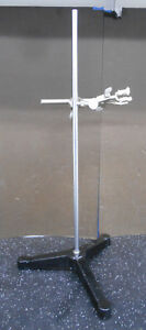 Fisher Laboratory Stand W 12 Base 23 75 Post And Clamp