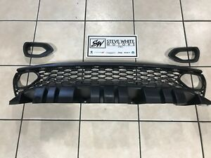 2019 Dodge Charger Srt Scat Pack Daytona Upper Grille With Bezels Dual Inlets Oe