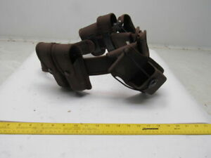 Strong Police Belt Gun Holster Handcuff Holder Mace Pouch Radio Magazine