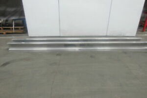 Gorbel Monorail 13 6 Aluminum Enclosed Runway Beam Track 500lb Cap Lot Of 2