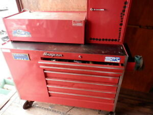 Snap On Tool Box 3 Sides With Mac Tool Box And More