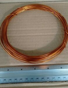 Awg 17ga 1 0mm Magnetic Wire Enameled Copper Winding Coil 50ft Length