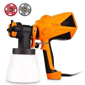 600w Electric Paint Spray Gun Outdoor Fence Painting Tool Home Us Eh7e 02