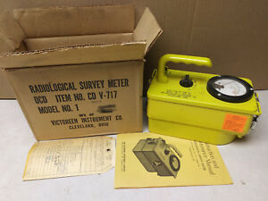 Victoreen Cdv 717 Model 1 Geiger Counter Serial 15818 Behaves Erratically