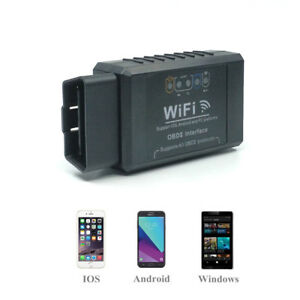 Elm327 Wifi Obd2 Car Code Reader Diagnostic Scanner For Iphone Android