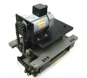 Automatic Saw Sliding Table Fixture With Gtr Induction Motor 1 16 Ph 20 1 3ph