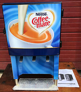 Silverking Sknes3b Commercial 3 Flavor Iced Coffee Creamer Dispenser Free Ship