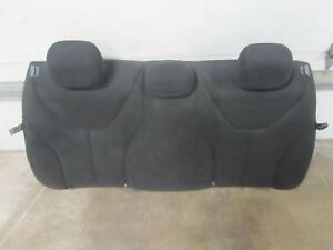 2013 Dodge Dart Back Seat Seatback Black Cloth Oem Factory Rear Bench Head Rest