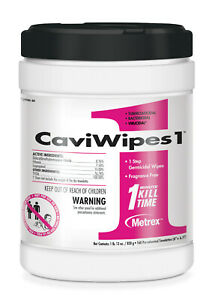 Case Of 1920 Metrex Caviwipes1 Multi purpose Disinfectant Wipes Caviwipes 12