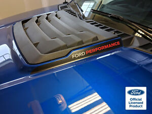 2019 Ford Raptor Svt F 150 Hood Cowl With Ford Performance Vinyl Stickers Decals
