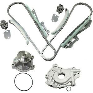 Timing Chain Kit For 2001 2004 Ford Mustang With Water Pump And Oil Pump