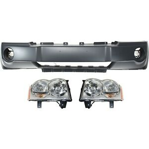 New Kit Auto Body Repair Front For Jeep 05 07 Ch1000451 Ch2502160 Ch2503160