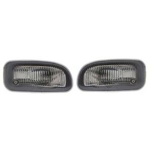 Kool Vue Set Of 2 Clear Lens Fog Light For 99 01 Jeep Grand Cherokee Lh