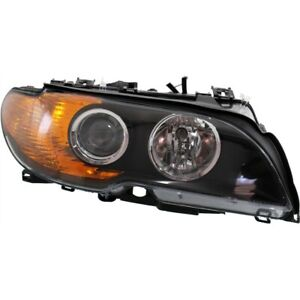 Headlight For 2003 2004 2005 2006 Bmw 325ci Right With Yellow Turn Signal Light