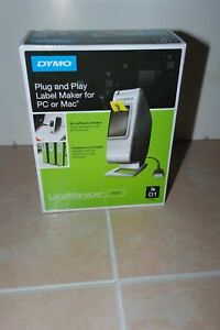 Dymo Label Maker Plug And Play New Sealed