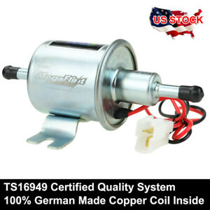 New Electric Fuel Pump 70 Lph For Motorcycle Low Pressure 12v Carburetor Hep 02a