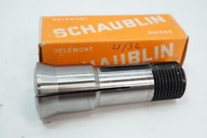 New Schaublin W 20 Swiss Made 21 32 Collet For Aciera Mill Or 102 Lathe