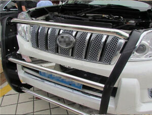 Honeycomb Front Grille Grill Mesh Cover Trim For Toyota Prado Fj150 2010 2013