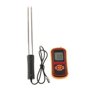 Gm640 Grain Moisture Meter Temperature Tester Wheat Corn Rice Damp Detector