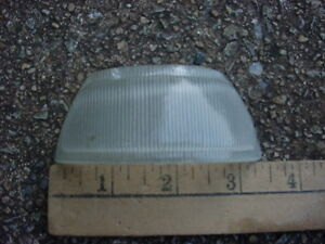 30s 40s 50s Maybe Clear Glass License Backup Park Lamp Lens