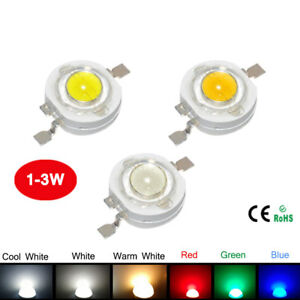 Real Full Watt Cree 1w High Power Led Lamp Emitting Diodes Chip Smd 110 120lm