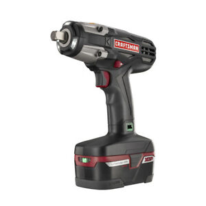 Craftsman C3 1 2 Heavy Duty 19 2v Cordless Impact Wrench Kit W Battery Charger