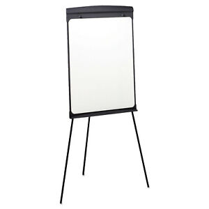 27 X 35 Standing Tripod Easel Magnetic Graphite Whiteboard With Flip chart