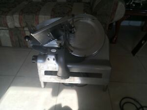 Vintage Berkel Us Slicing Machine Co Manual Hand Cranked Meat Slicer