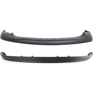Front Bumper Cover Kit For 2002 Dodge Ram 1500 Type 2 New Body Style W Valance