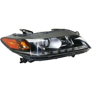 Headlight For 2013 2014 2015 Honda Accord Coupe Right With Bulb Capa