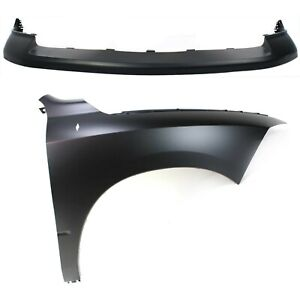 Bumper Cover Kit For 2011 2012 Ram 1500 Front