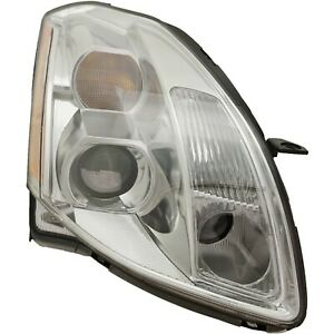 Headlight For 2005 2006 Nissan Maxima 3 5l 6 Cylinder Right Clear Lens Halogen