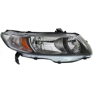 Headlight For 2010 2011 Honda Civic Dx Lx Ex Ex l Si Dx g Models Coupe Right