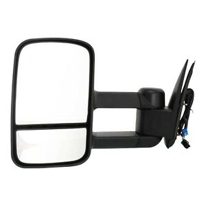 Power Towing Mirror For 2003 2006 Chevy Silverado 1500 Left Manual Fold Textured
