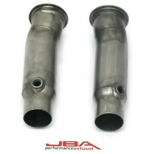 6812sd Jba New Exhaust Pipes Set Of 2 For Chevy Chevrolet Camaro Ss 14 17 Pair