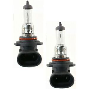 Set Of 2 Head Light Headlamp Bulbs Left Right For 2004 Chevy Silverado 2500 Hd