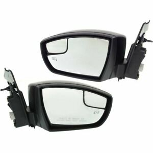 Kool Vue Power Mirror Pair For 2013 2016 Ford Escape Htd Pto Match Folding