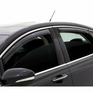 Ventshade 194989 Window Visor For 2014 2018 Toyota Corolla Front And Rear Smoke